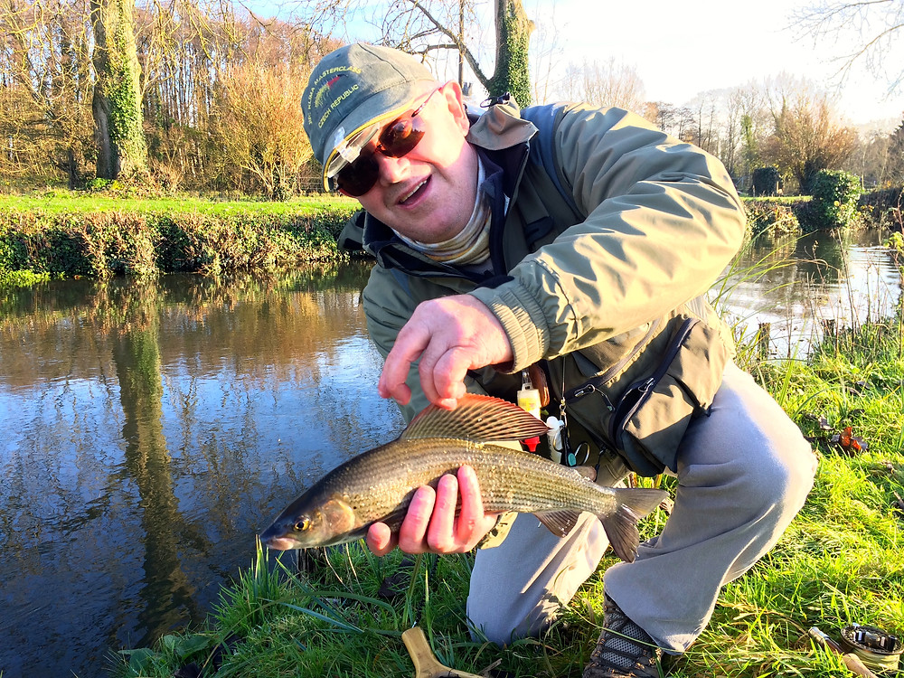 Another Test Grayling banked