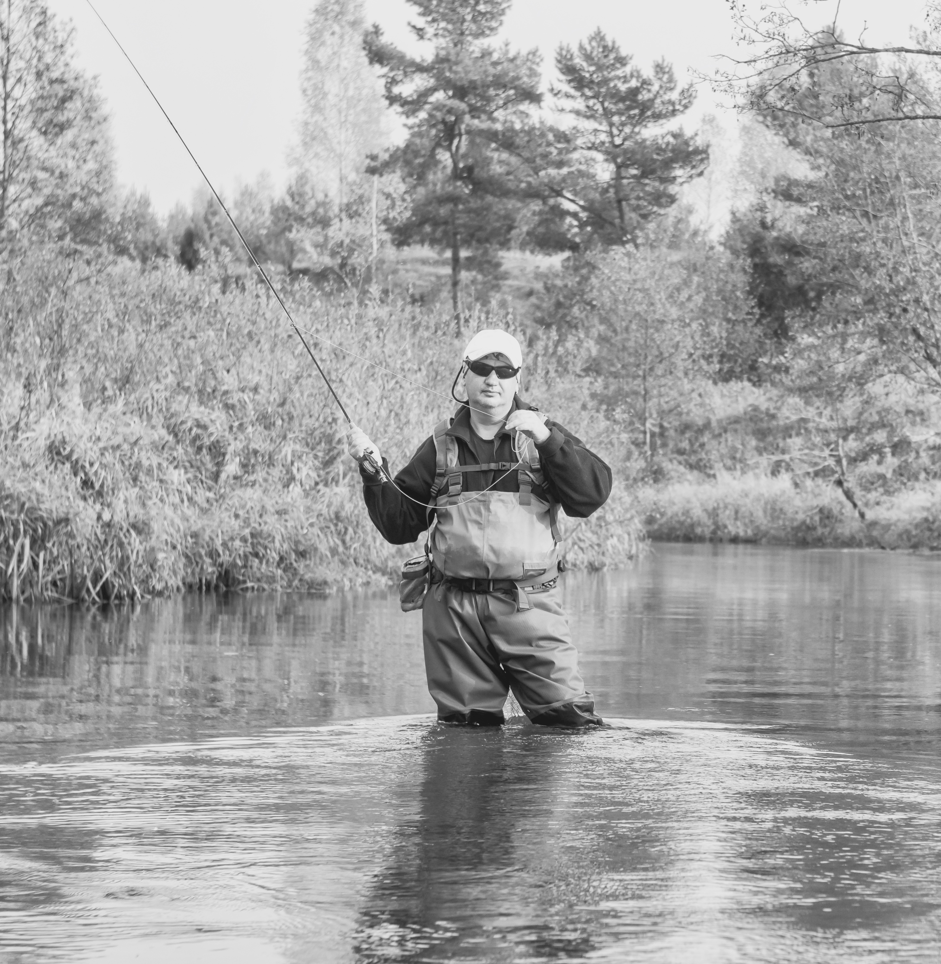 Fly fishing in London