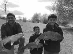 Fun family fishing in London