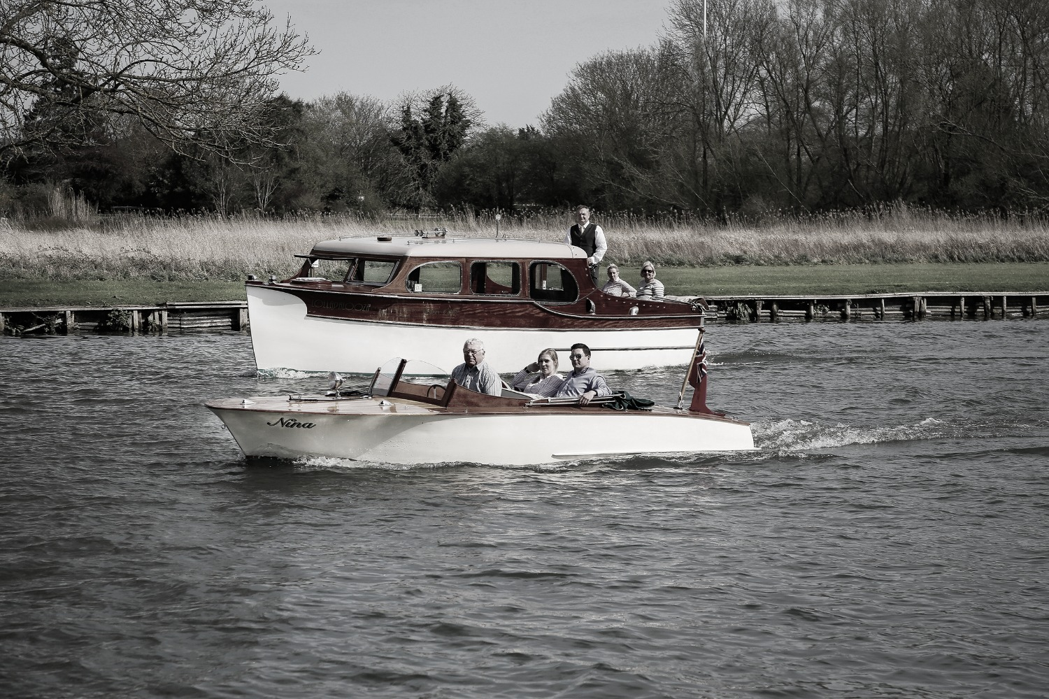 Classic Vintage Thames boat trips