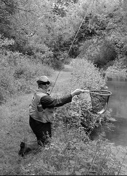Fly fishing in London