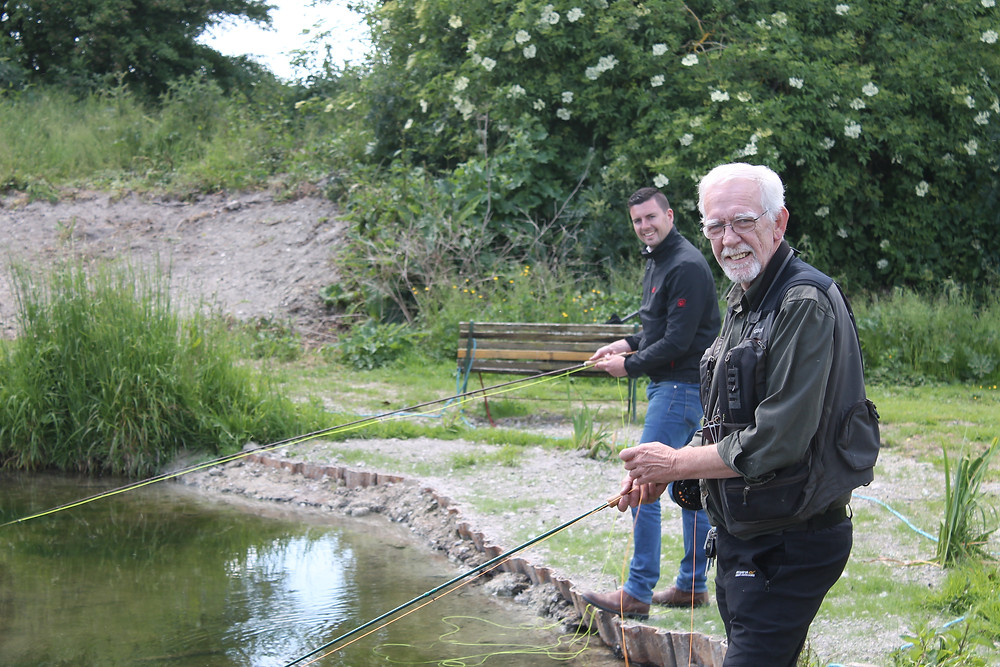 Fly fishing lessons with Ian Horrocks, Fishing lessons