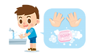cute-boy-washing-hands-with-soap-and-han