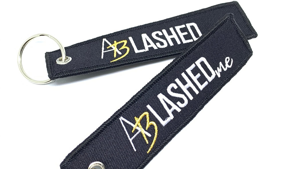 """""""AB Lashed Me"""" Keychain"""