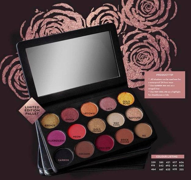 A'mare Rose Metal Eyeshadow Pallet