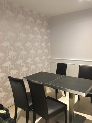 salle de restaurant : papier peint déco
