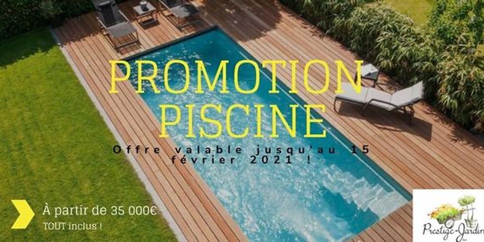 Promotion Piscine