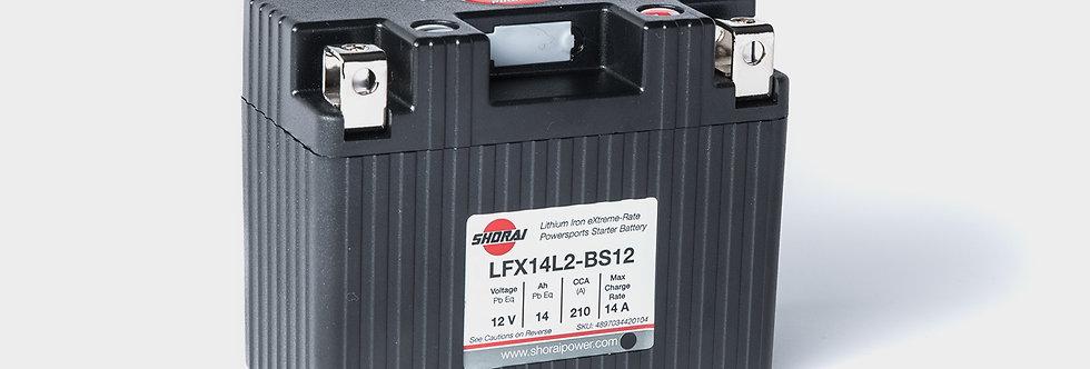Shorai LFX Lithium Battery