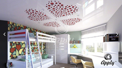 3D PERFORATED STRETCH CEILINGS