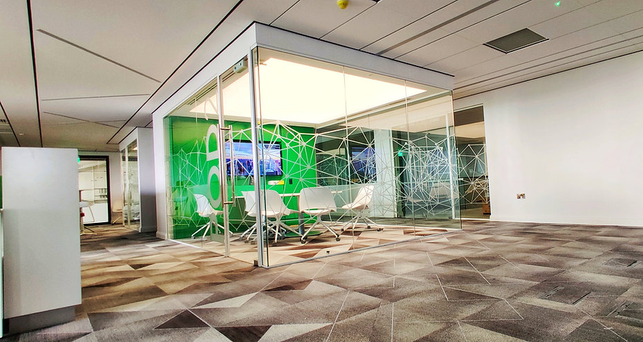 translucent ceiling