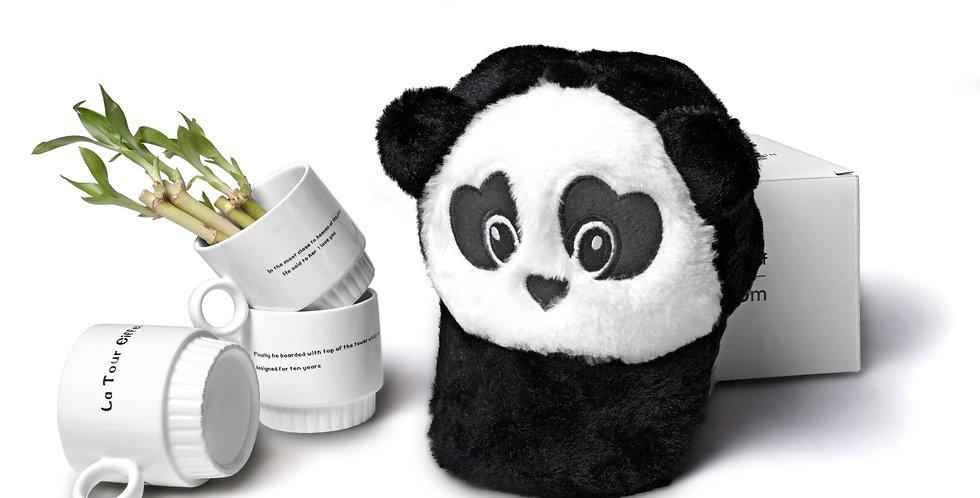Furry Panda cap