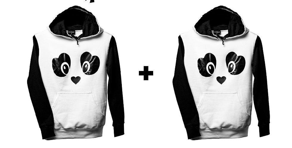 Panda hoodie Combo