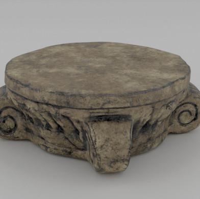 Roman Style Platform Front
