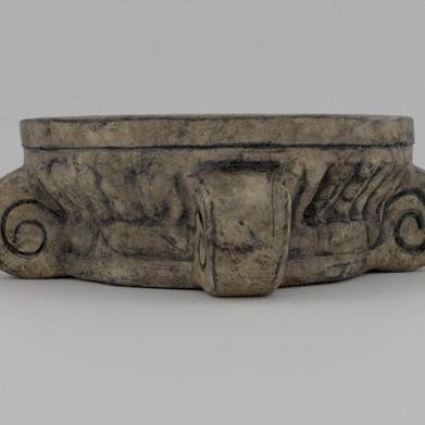 Roman Style Platform Low Back