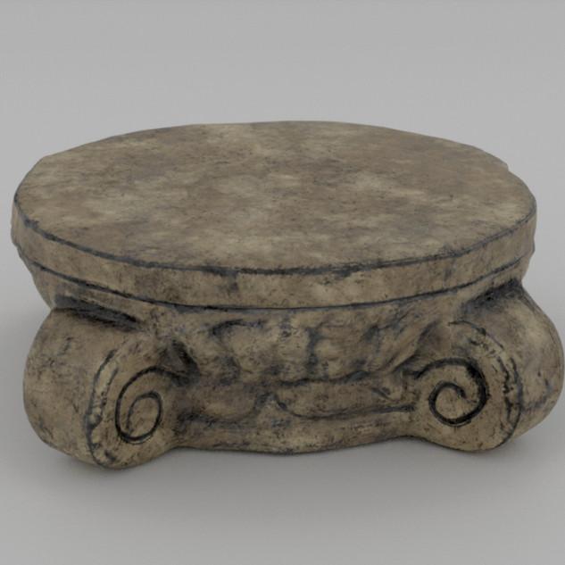 Roman Style Platform Left