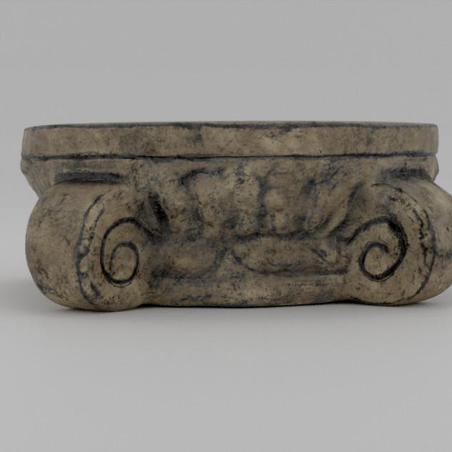 Roman Style Platform Low Left