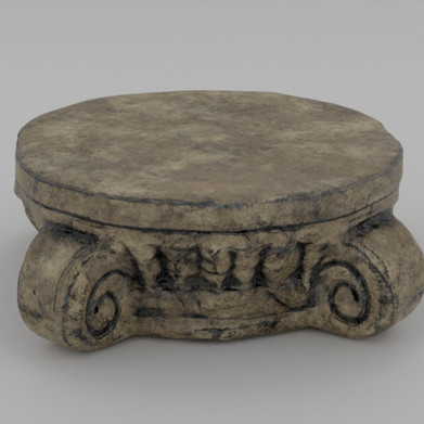 Roman Style Platform Right