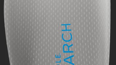 Insole 9 - Gel Arch 3.4 Memory Foam BACK