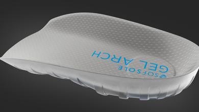 Insole 9 - Gel Arch 3.4 Memory Foam TOP.