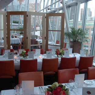 blu restaurant, Boston, Ritz Carlton
