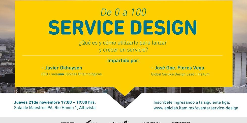 De 0 a 100 Service Design