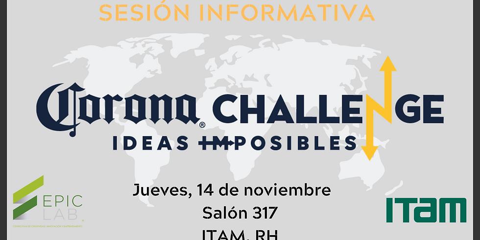 Sesión Informativa: Hackathon Corona Challenge