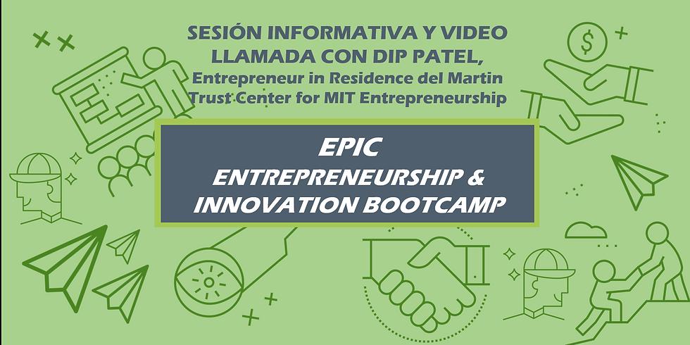 Sesión informativa y video llamada con Dip Patel