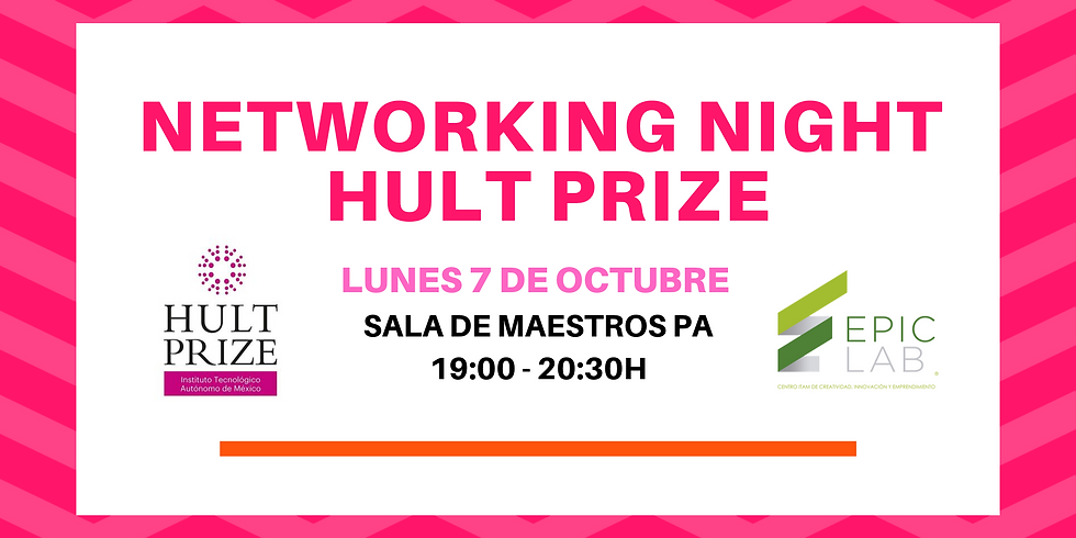Networking Night Hult Prize