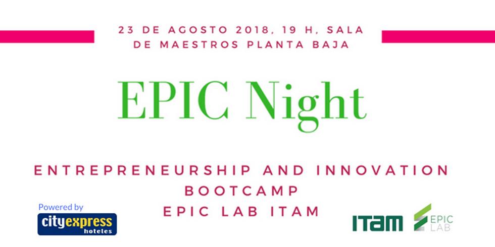 EPIC Night Entrepreneurship and Innovation Bootcamp