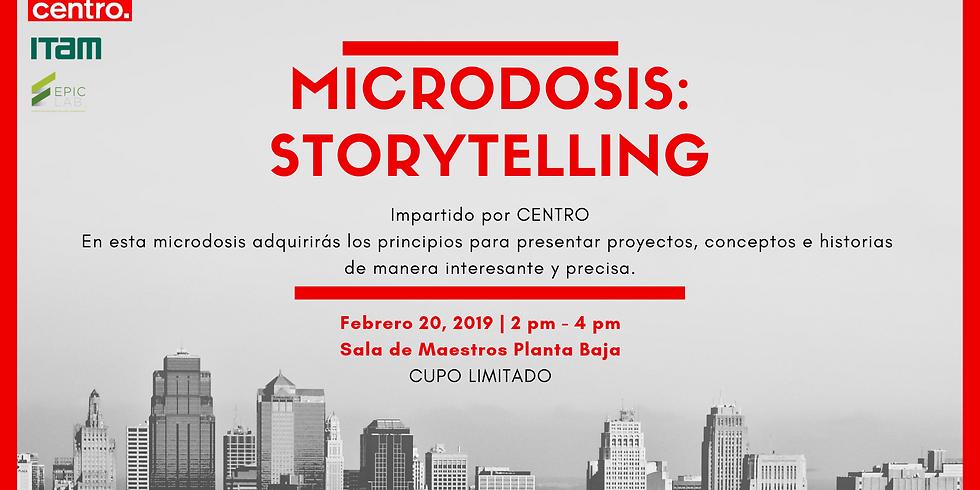 Microdosis: Storytelling