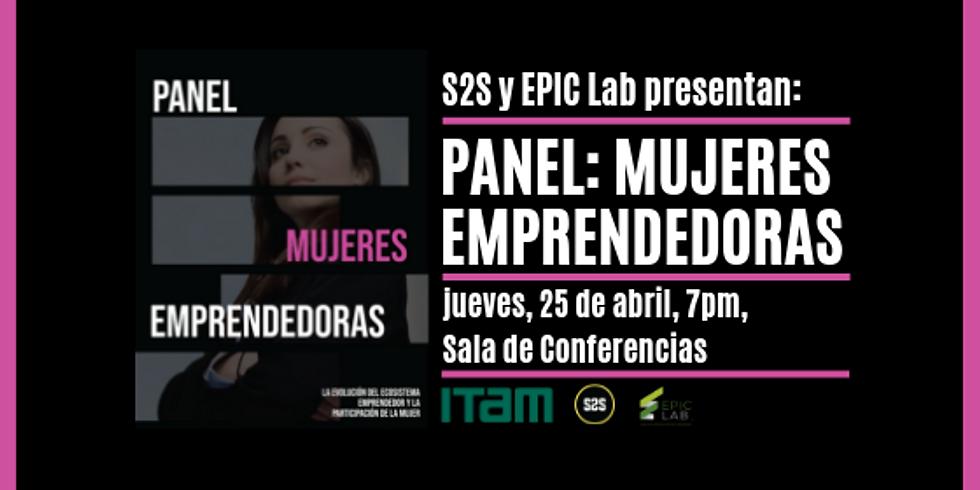Panel: Mujeres Emprendedoras