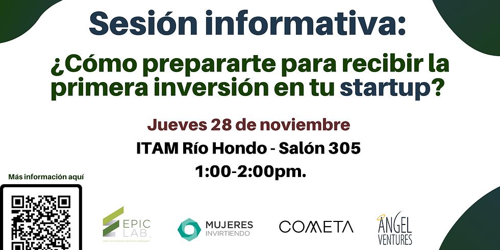 Sesión Informativa: Programa de levantamiento de capital