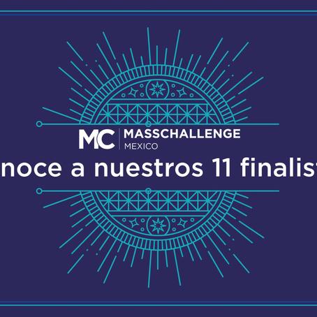 Los 11 finalistas en el premio MassChallenge 2018