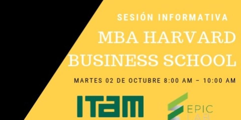 Harvard Business School- Sesión Informativa sobre MBA