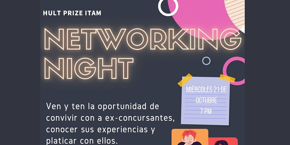 Networking Night Hult Prize  2021