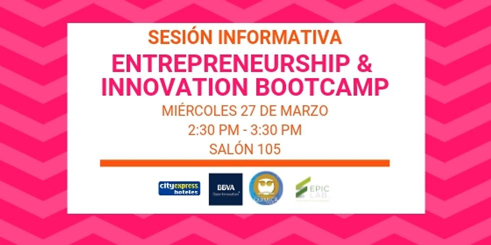 Sesión Informativa 27 de Marzo