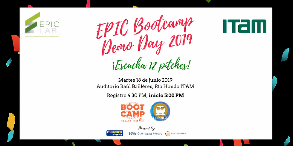 EPIC Bootcamp Demo Day 2019