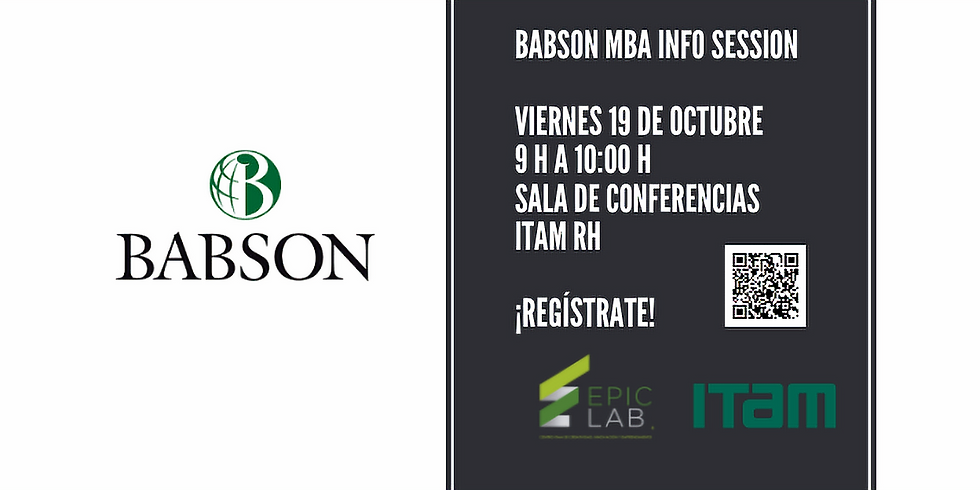 Babson MBA Info Session