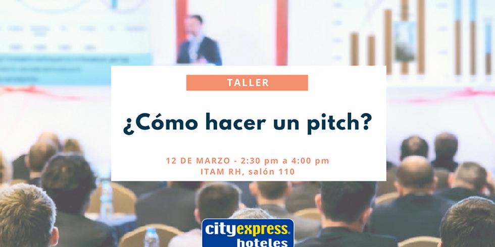 Taller: ¿Cómo hacer un pitch?