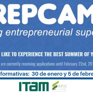 Sesión Informativa 15 Febrero: Becas para TrepCamp 2019