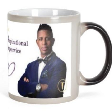Just Divine Self Heating Mug & Matching Staff
