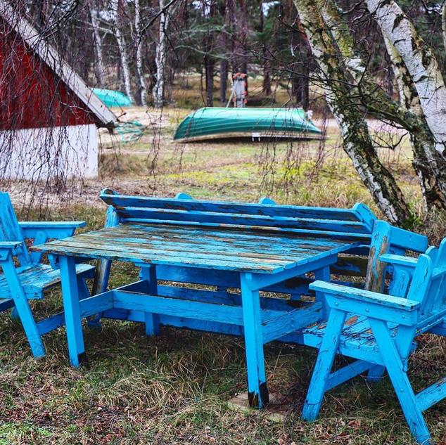 Blue fika
