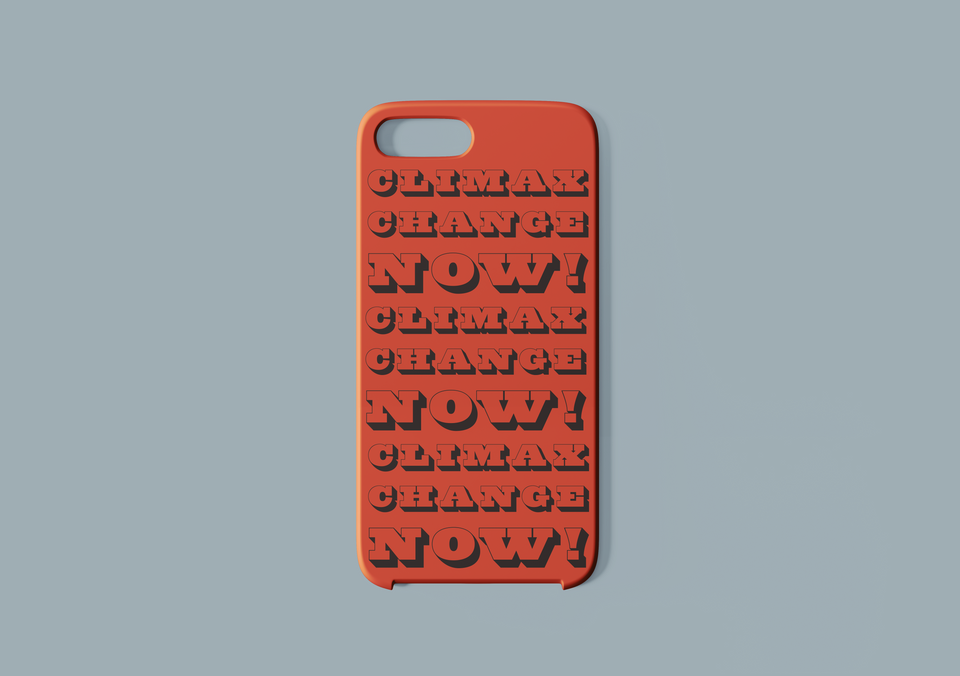 Statement Phone Case