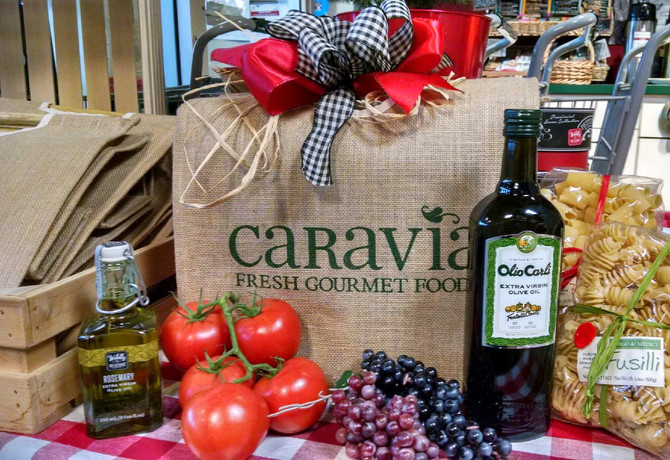 Choose Caravia for a Delicious Holiday