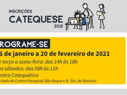 Paróquia São Roque dá início às inscrições para a Catequese 2021