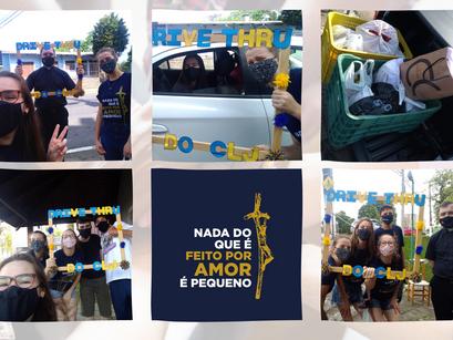 CLJ São Roque realiza drive thru solidário para arrecadar doações e ajudar famílias carentes