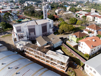 Obras da nova Casa Canônica de São Roque e Faria Lemos entram na fase final