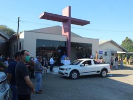 Comunidade do bairro Aparecida celebra festa da Padroeira