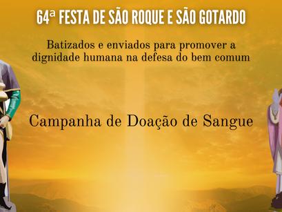 Paróquia São Roque realiza campanha de doação de sangue