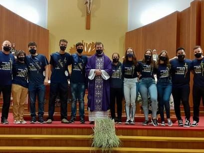 CLJ São Roque dá posse ao novo Pequeno Secretariado Paroquial 2021